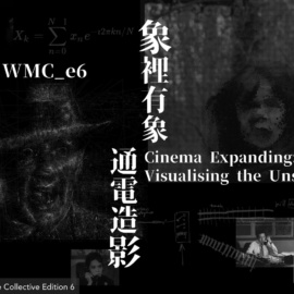WMC_e6 here soon: CINEMA EXPANDING 象裡有象。通電造影